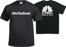 CNBC Do The Deed Shirt